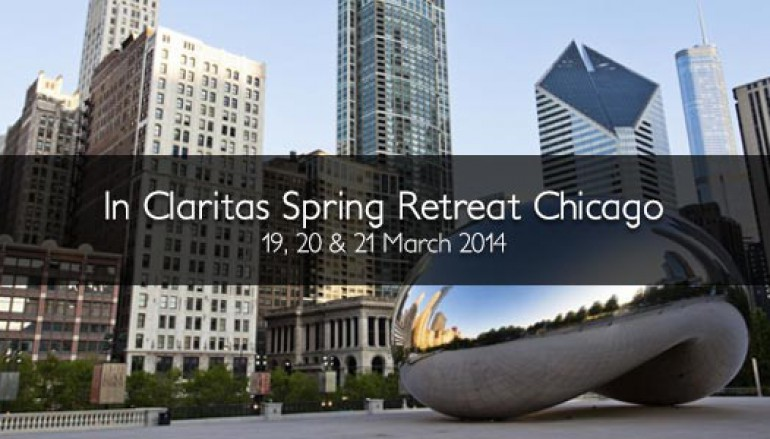 The Spring Retreat  Chicago on 19, 20, and 21 March 2014.