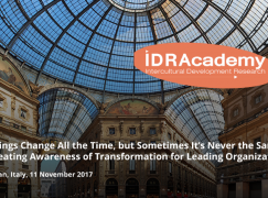 Things Change All the Time, but Sometimes It's Never the Same: Creating Awareness of Transformation for Leading Organizations